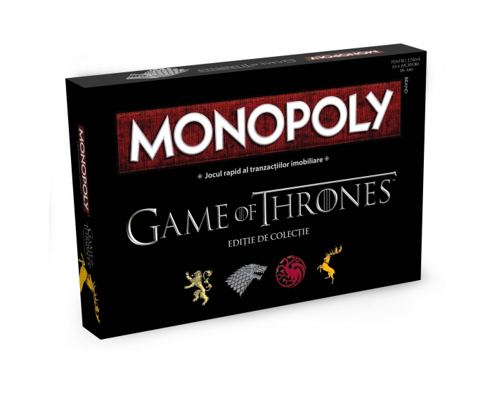 Monopoly Game of Thrones (RO)